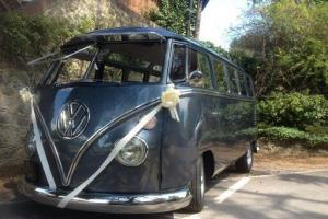 VW 1965 21 window Samba Deluxe camper van  Photo