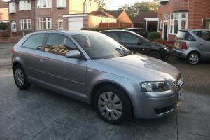 2006 AUDI A3 SPECIAL EDITION SILVER TAXED AND MOT