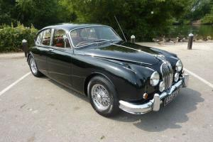 JAGUAR MK2 3.8 - 1963 - FINISHED IN MASONS BLACK WITH RED INTERIOR - STUNNING  Photo
