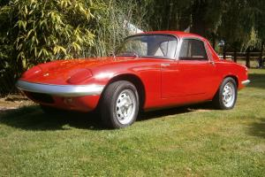 Lotus Elan S3 FHC 1967  Photo