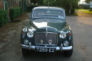 GORGEOUS ROVER P4 95 BY THE NAME OF ELIZABETH - NOW WITH NEW MOT