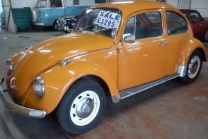 72 tax exempt beetle totally standard and superb long mot cd/radio  Photo