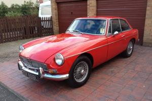 MGB GT red  Photo