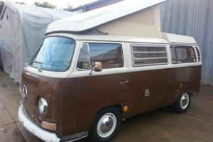 Classic 1969 VW Camper Van US Import All Orginal Paint New MOT