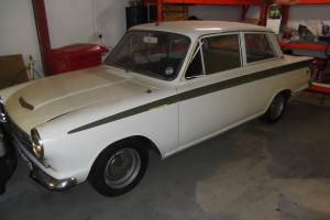 1964 MK1 PRE AIRFLOW CORTINA 1500 GT 2 DR- IN LOTUS COLOURS