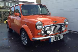 Classic Rover Mini, 1275, fully rebuilt, orange with white roof  Photo