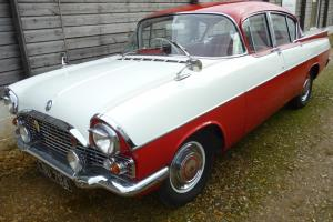 Vauxhall Cresta PA - 1962 - Lovely Condition - New Mot - Red/White - 2652cc -