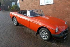 1978 MGB Roadster  Photo