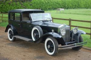1931 ROLLS ROYCE Phantom II Brewster Town Car  Photo