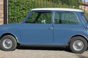 1991 ROVER MINI COOPER BLUE/WHITE MK2 STYLE LONG MOT AND TAX