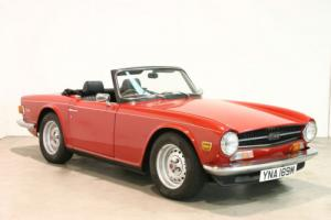 1973 Triumph TR6 - Superb Condition - Uprated Engine, Suspension