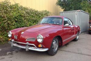 VW Karmann Ghia LHD Coupe 1968, California Import