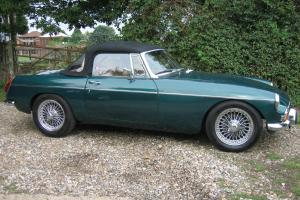 MG B Roadster 1972 (2.1litre 5 speed)  Photo