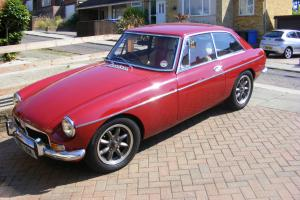 1972 MG B GT Tax Excempt Classic Car In Red