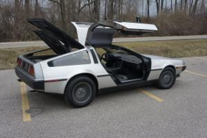 1981 DeLorean DMC 12 Manual Black Interior Low Miles Early Vin 905