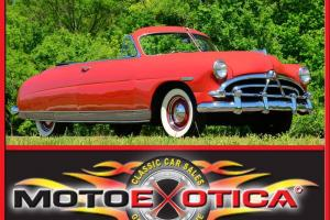 1951 HUDSON PACEMAKER CONVERTIBLE-EXTREMELY ORIGINAL CAR-ORIGINAL POWER DOME 6!!