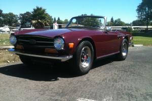 1973 Triumph TR6, Just Completed Professional Ground Up Restoration Photo