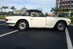 1976 Triumph TR6 Roadster Overdrive Full History All Original Must See!!! Photo
