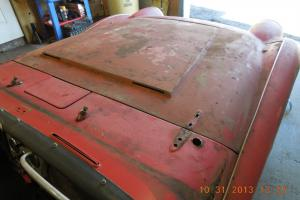 1973 Triumph TR 6 convertible. Rust Free Original & Complete Needs engine rehab.