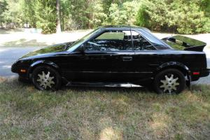1987 Toyota MR2 GT - Black - Super Rare - Meticulously Maintained 86,000 miles