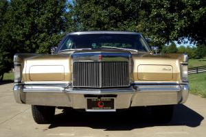 The Classic Lincoln Continental Mark III 1969 Model - Full Frame On Restoration