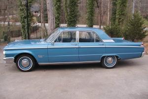 1962 Mercury Meteor 29,067 ORIGINAL MILES!  Immaculate interior!