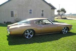 """Beautiful 71 Buick Riviera with ONLY 42K ORIGINAL MILES !!  20"""" wheels lowered"""