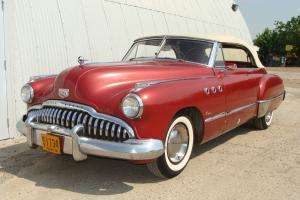 1949 BUICK SUPER CONVERTIBLE  GOOD DRIVER.     TEXAS.
