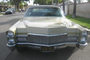 1968 Cadillac Fleetwood brougham Ca. black plate NO RESERVE little old man LOOK