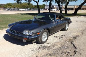 1989 Jaguar XJS  Convertible 2-Door 5.3L V12 Only Showing 62k