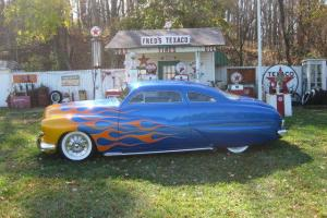 1950 MERCURY/CHOPPED CUSTOM/HOT STREET RAT ROD/CORVETTE ENGINE AUTOMATIC