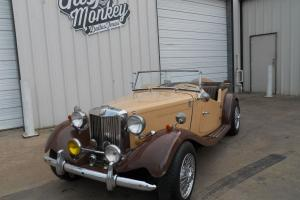 1952 MG TD Replica Factory built by Allison in 1980 offered by Gas Monkey Garage