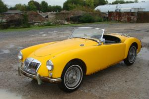 1957 MGA 1500 ROADSTER PROJECT .
