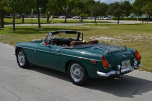 1971 MG B Roadster - Chrome Bumper - Overdrive - Wire Wheels