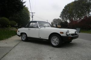 1977 MG Midget MK IV Convertible 2-Door 1.5L Photo