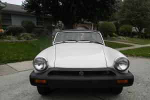 1979 One Owner MGB garage kept 79700 miles Nice Cond Original British Racing Grn
