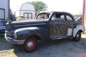 Rare 1947 Nash Super Coupe Series 4763 Rat Rod Hot Rod Project