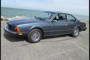 Rare & Exceptional Rust-Free 1984 BMW 633CSi E24 Shark! Low Miles + NO RESERVE!