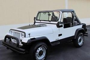 1989 Jeep Wrangler 4x4 Air Condition 6 Cylinder 5 Speed Full Doors Serviced