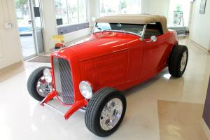 1932 FORD DEARBORN DEUCE ROADSTER, it was picked by Ford as the PR car Photo