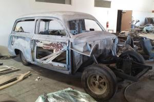 1950 Ford Woodie, Front Disc Brakes, 9 inch rearend, 302 with OD tranny, straght