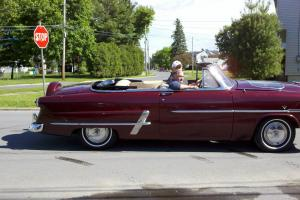 1953 Ford Crestliner-Sunliner Covertible not a 1955 chevrolet convertible