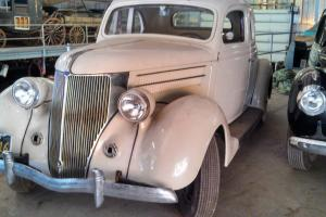 1936 Ford 2 door, 5 window Coupe with Rumble Seat Body in Good Shape
