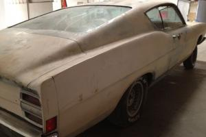 1968 Ford Fairlane 500  No Motor, No Trans. Selling this with a BILL OF SALE
