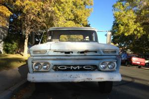 1961 GMC ,like Chevy Chevrolet, 1 T on dually truck pickup,  flatbed work truck