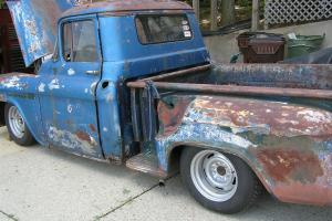 1955 Chevy Step-Side Truck Photo