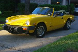 Outstanding Triumph Spitfire 1500 Photo