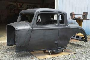1934 plymouth 5 window coupe body, hot rod, rat rod, project