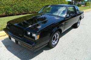 1987 BUICK GRAND NATIONAL LOW MILEAGE STOCK UNMODIFIED VERY ORIGINAL HARDTOP