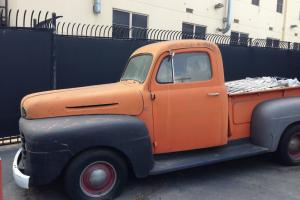 1950 FORD F1 F-1 HALF TON PU One-time daily-driver in need of TLC/restoration